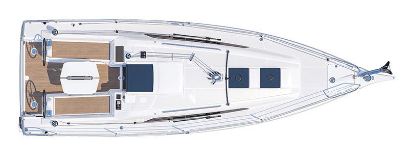Oceanis 30.1 deck